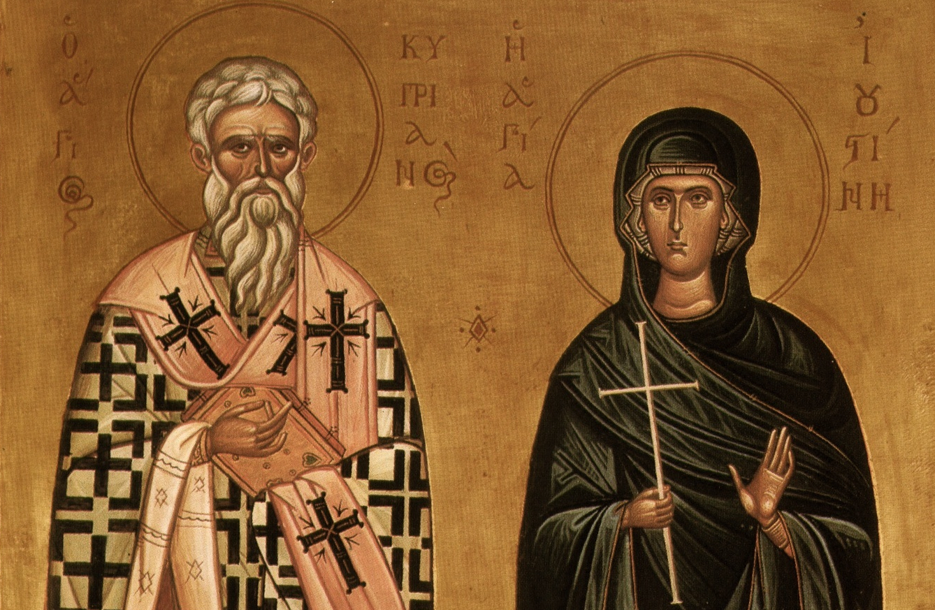 St. Cyprian and St. Justina